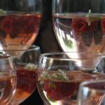 Elderflower syrup & Raspberries drinks